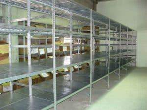 מדפי מטל ססטם 004 - מדפים למחסן